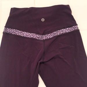"Align pants 25"" dark plum with design"